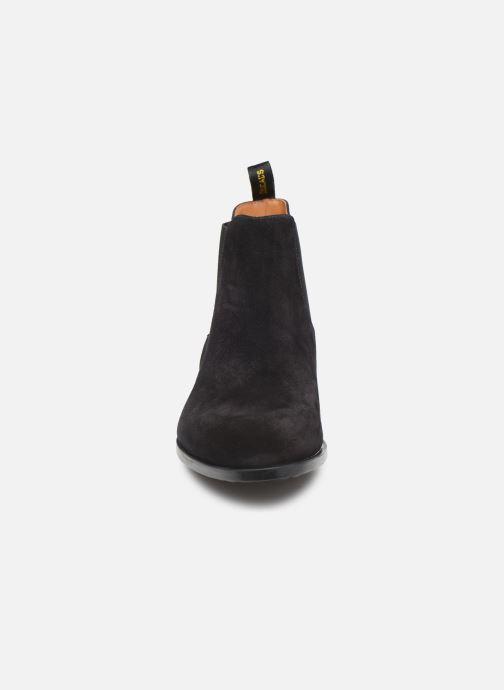 Stiefeletten & Boots Doucal's CHELSEA BOOT schwarz schuhe getragen