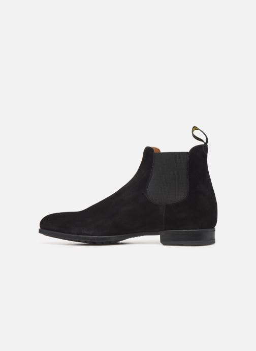 Ankle boots Doucal's CHELSEA BOOT Black front view