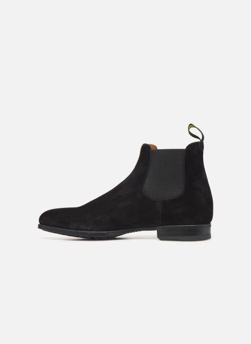 Stiefeletten & Boots Doucal's CHELSEA BOOT schwarz ansicht von vorne