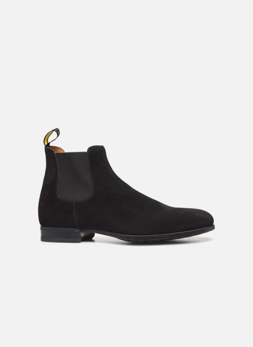 Ankle boots Doucal's CHELSEA BOOT Black back view