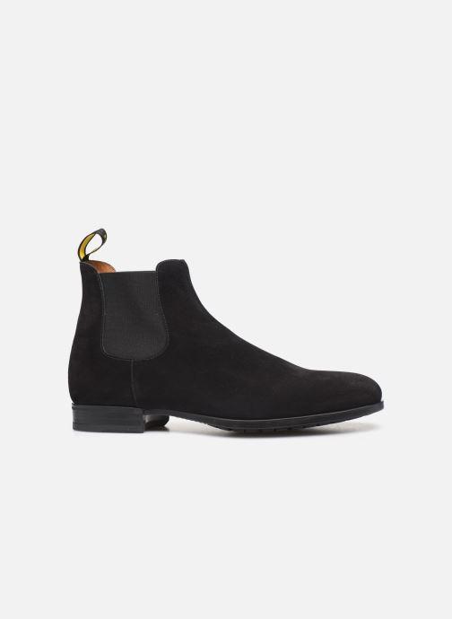 Stiefeletten & Boots Doucal's CHELSEA BOOT schwarz ansicht von hinten