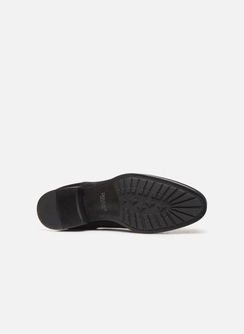 Stiefeletten & Boots Doucal's CHELSEA BOOT schwarz ansicht von oben
