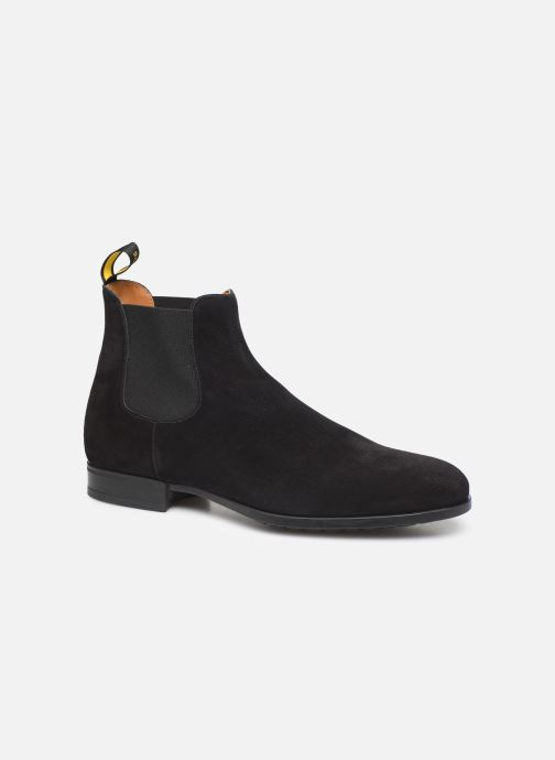 Ankle boots Doucal's CHELSEA BOOT Black detailed view/ Pair view