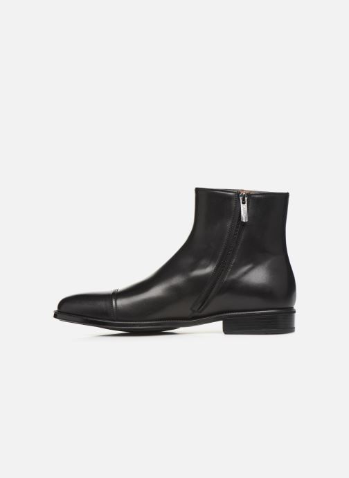 Bottines et boots Doucal's ZIP BOOT PUNTINA Noir vue face