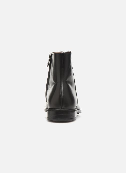 Botines  Doucal's ZIP BOOT PUNTINA Negro vista lateral derecha