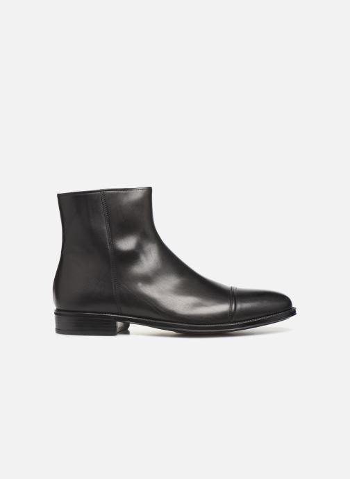 Boots en enkellaarsjes Doucal's ZIP BOOT PUNTINA Zwart achterkant