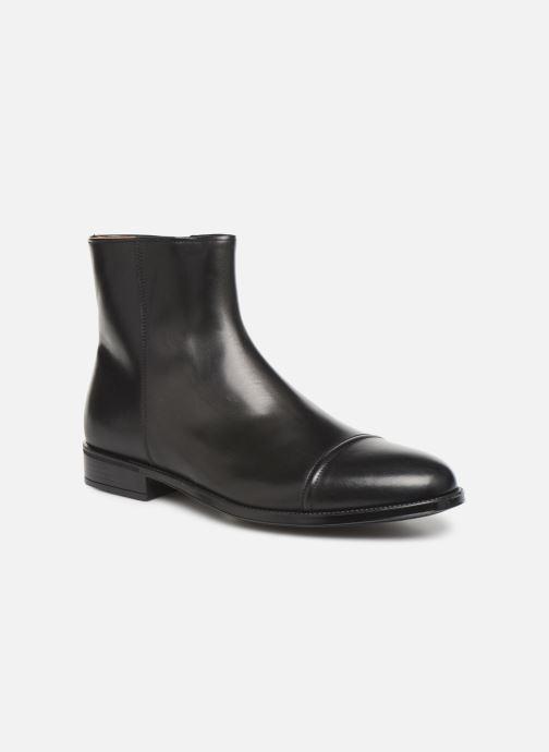 Boots en enkellaarsjes Doucal's ZIP BOOT PUNTINA Zwart detail