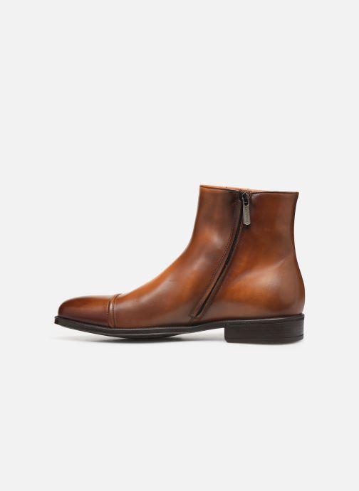 Bottines et boots Doucal's ZIP BOOT PUNTINA Marron vue face