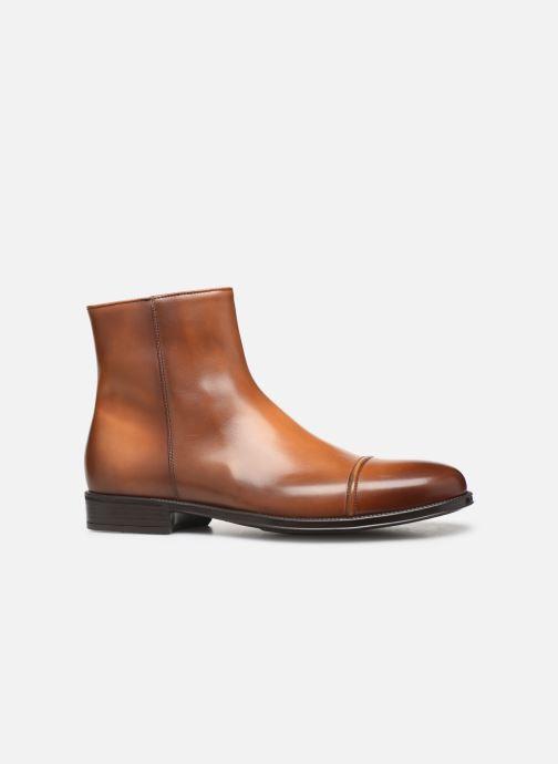 Bottines et boots Doucal's ZIP BOOT PUNTINA Marron vue derrière