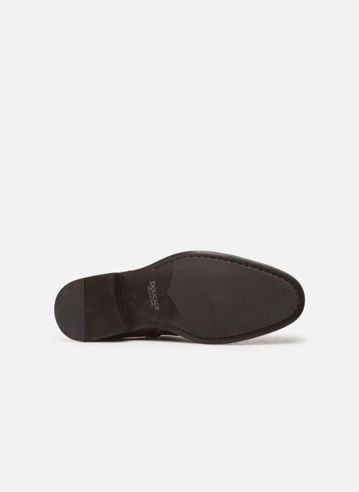 Bottines et boots Doucal's ZIP BOOT PUNTINA Marron vue haut