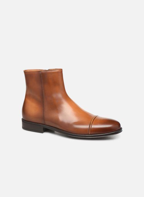 Bottines et boots Doucal's ZIP BOOT PUNTINA Marron vue détail/paire