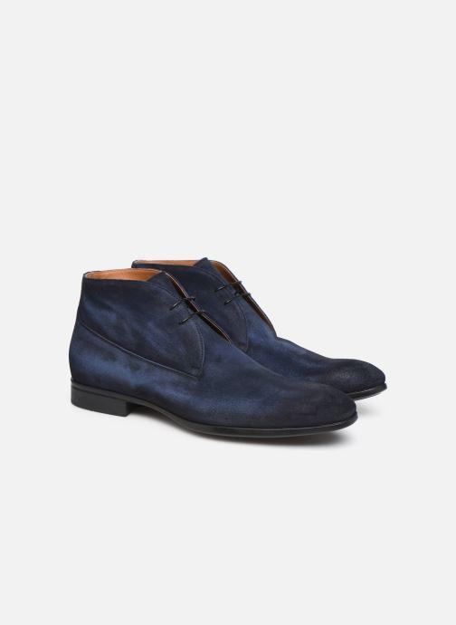 Bottines et boots Doucal's CHUKKA Bleu vue 3/4