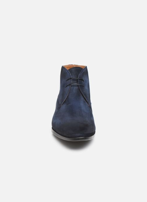 Ankle boots Doucal's CHUKKA Blue model view
