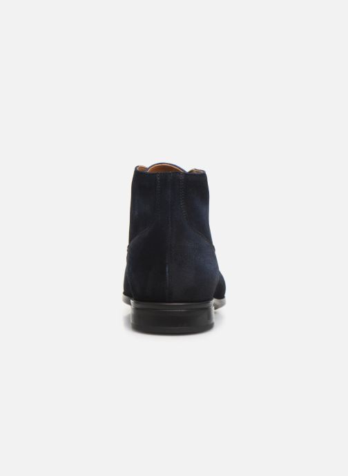 Ankle boots Doucal's CHUKKA Blue view from the right