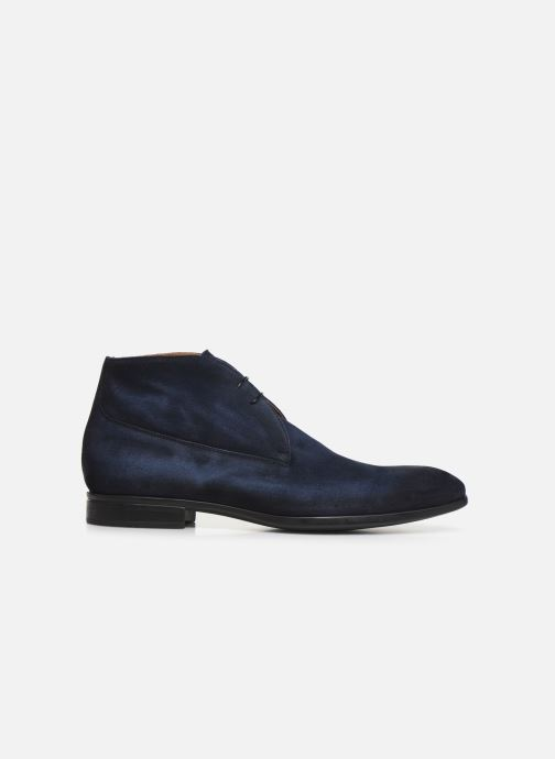 Ankle boots Doucal's CHUKKA Blue back view