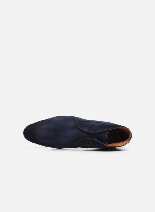 Bottines et boots Doucal's CHUKKA Bleu vue gauche