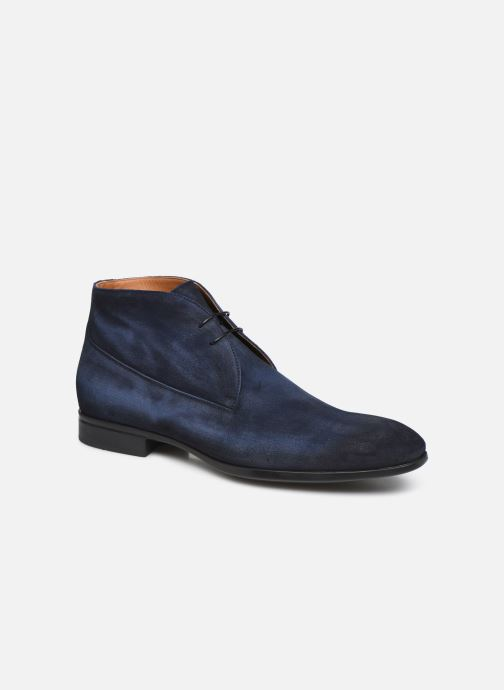 Ankle boots Doucal's CHUKKA Blue detailed view/ Pair view