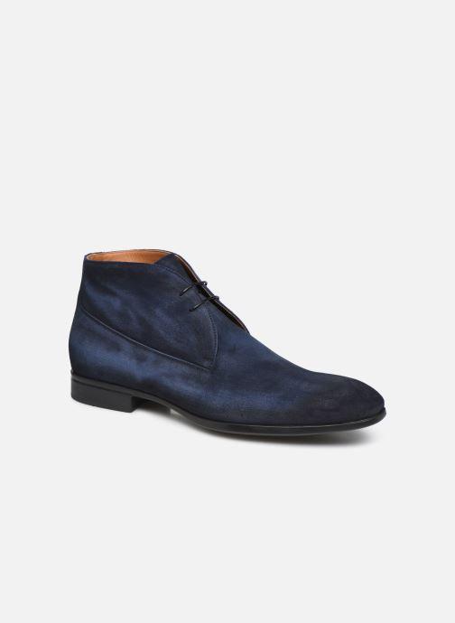 Bottines et boots Doucal's CHUKKA Bleu vue détail/paire