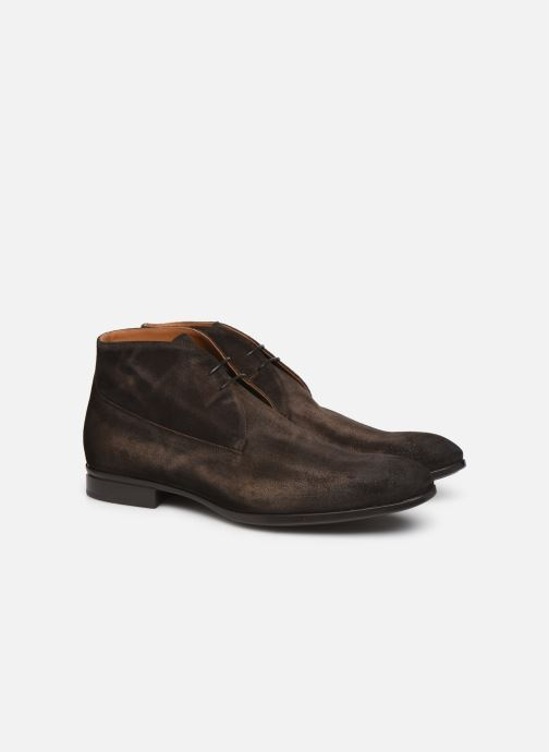 Ankle boots Doucal's CHUKKA Brown 3/4 view