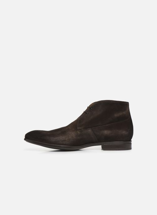 Ankle boots Doucal's CHUKKA Brown front view