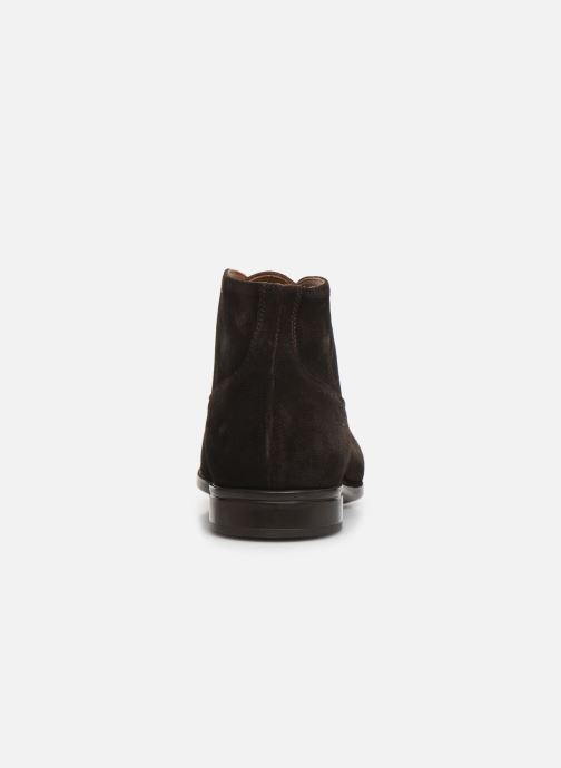 Ankle boots Doucal's CHUKKA Brown view from the right