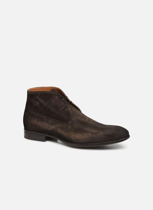 Bottines et boots Doucal's CHUKKA Marron vue détail/paire