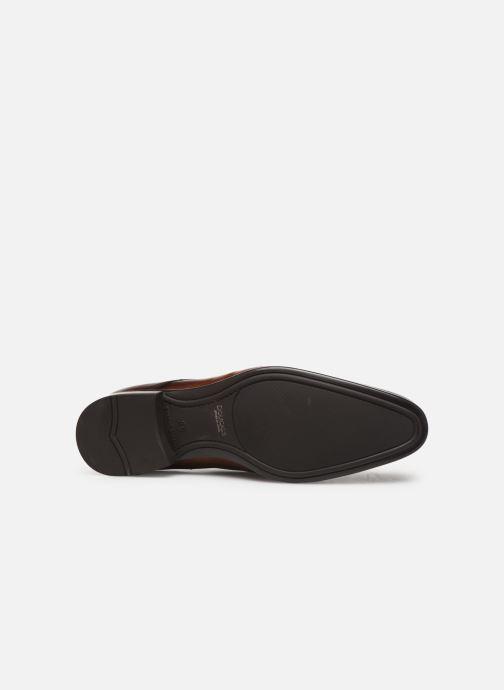 Chaussures à lacets Doucal's DERBY Marron vue haut