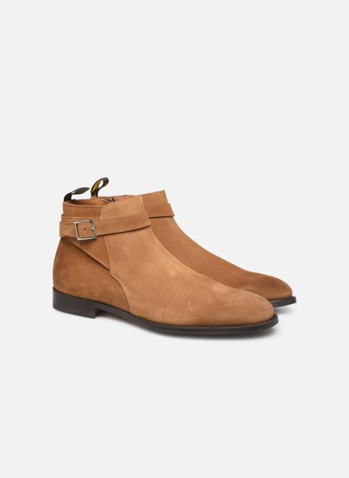 Bottines et boots Doucal's HALF BOOT CAP TOE Marron vue 3/4