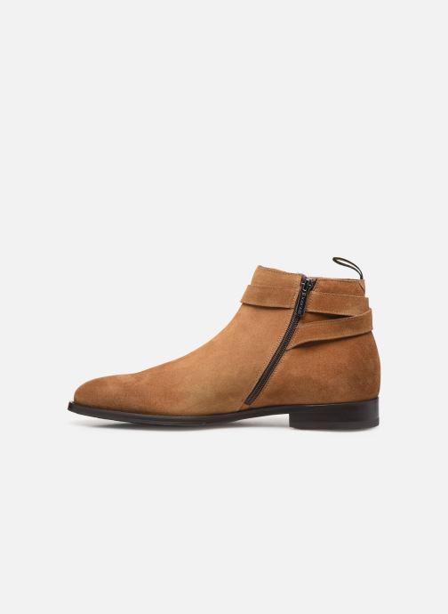 Boots en enkellaarsjes Doucal's HALF BOOT CAP TOE Bruin voorkant