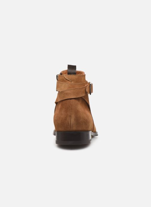 Boots en enkellaarsjes Doucal's HALF BOOT CAP TOE Bruin rechts