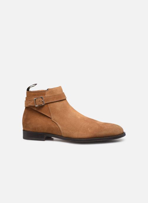 Boots en enkellaarsjes Doucal's HALF BOOT CAP TOE Bruin achterkant