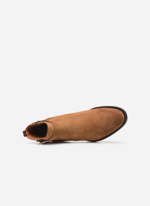 Boots en enkellaarsjes Doucal's HALF BOOT CAP TOE Bruin links