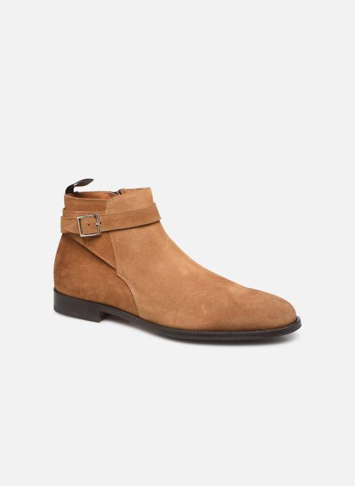 Bottines et boots Doucal's HALF BOOT CAP TOE Marron vue détail/paire