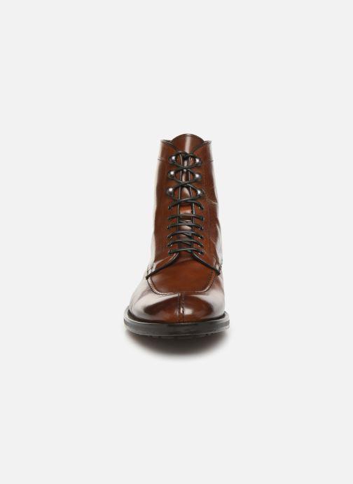 Bottines et boots Doucal's DERBY BOOT Marron vue portées chaussures