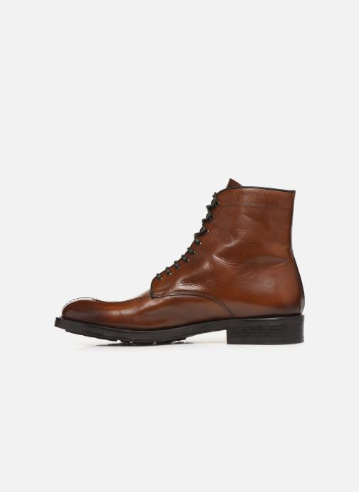 Bottines et boots Doucal's DERBY BOOT Marron vue face