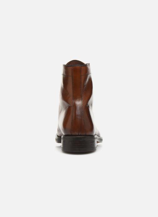 Bottines et boots Doucal's DERBY BOOT Marron vue droite