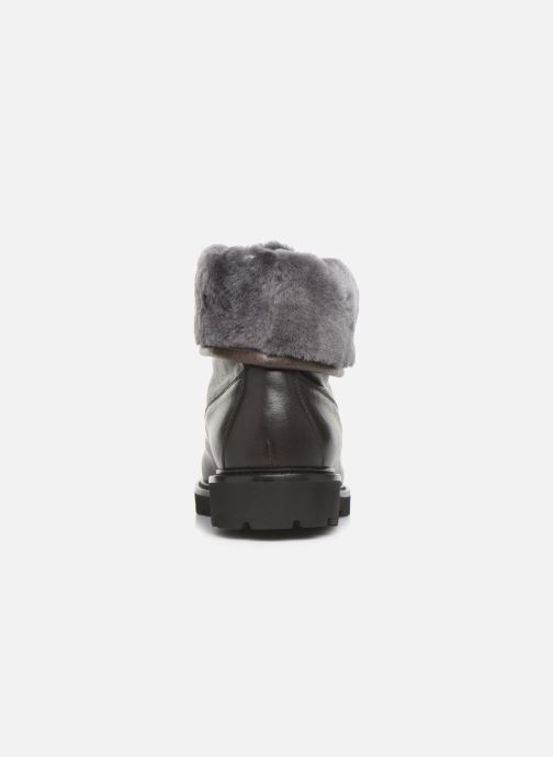 Ankle boots Doucal's DERBY BOOT Black view from the right