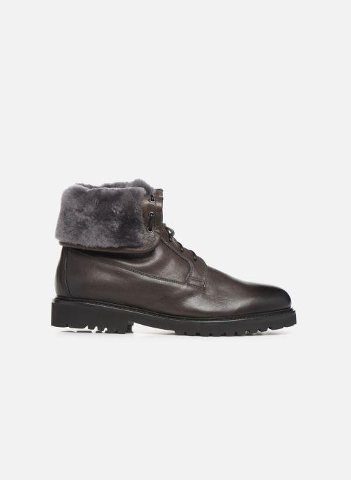 Stiefeletten & Boots Doucal's DERBY BOOT schwarz ansicht von hinten