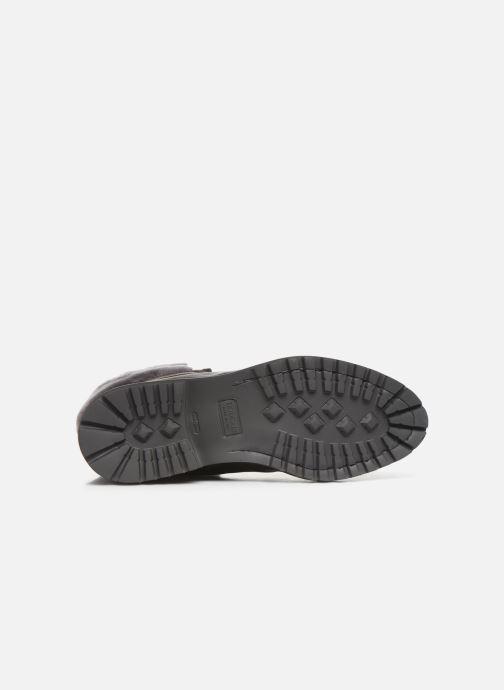 Stiefeletten & Boots Doucal's DERBY BOOT schwarz ansicht von oben