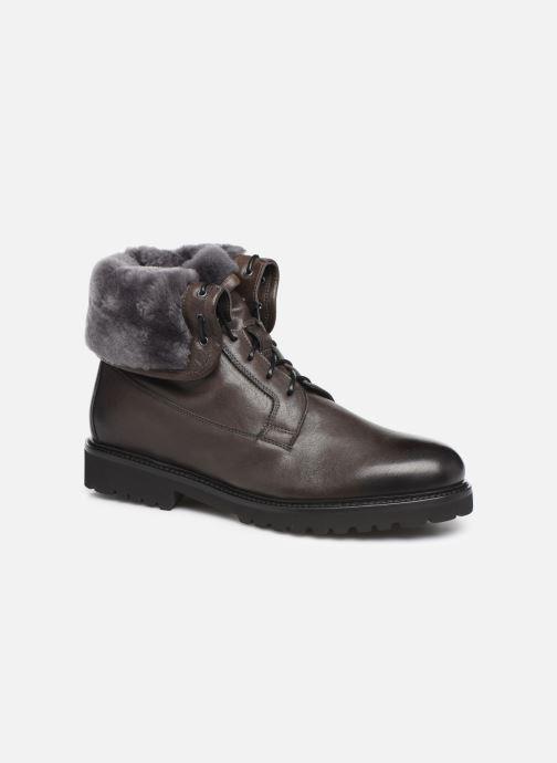 Bottines et boots Doucal's DERBY BOOT Noir vue détail/paire