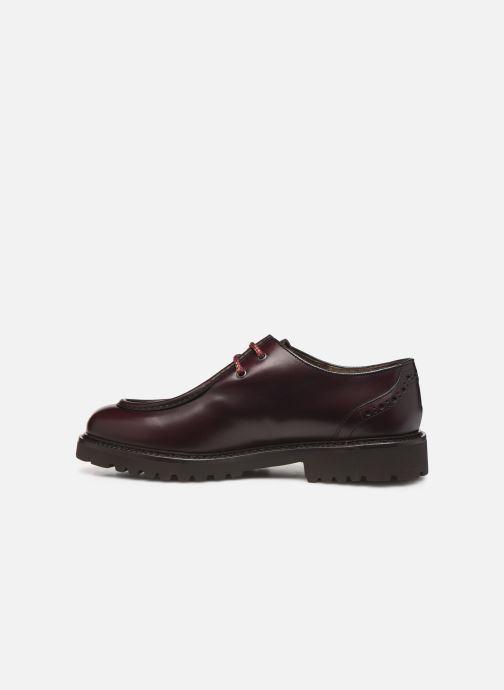 Zapatos con cordones Doucal's SCARPA BORDATA Vino vista de frente