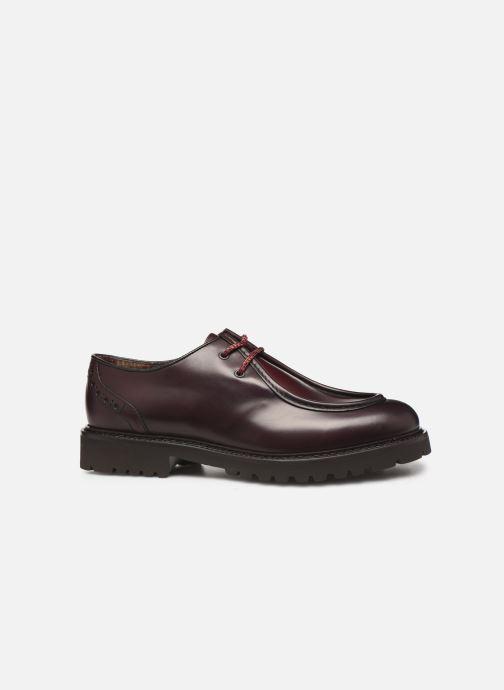 Zapatos con cordones Doucal's SCARPA BORDATA Vino vistra trasera