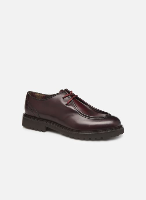 Lace-up shoes Doucal's SCARPA BORDATA Burgundy detailed view/ Pair view