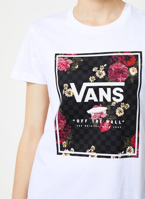 Vêtements Vans Boxed Botanic Blanc vue face