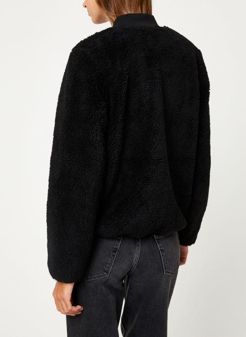 Kleding Vans Misty Fog Jacket Zwart model