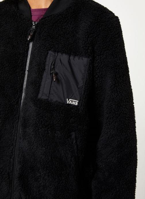 Kleding Vans Misty Fog Jacket Zwart voorkant