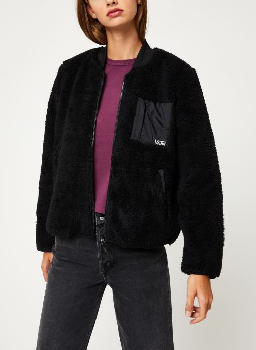 Kleding Vans Misty Fog Jacket Zwart detail