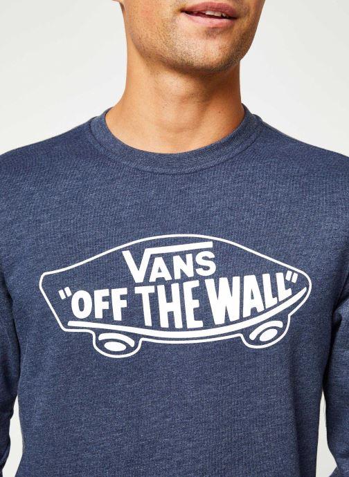 Vêtements Vans OTW Crew II Bleu vue face