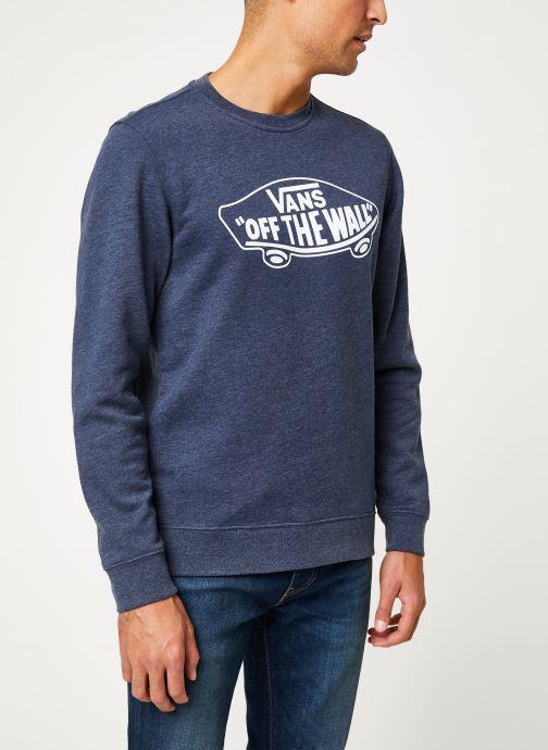 Vêtements Vans OTW Crew II Bleu vue droite