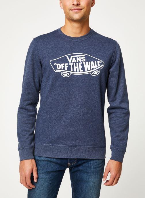 Vêtements Vans OTW Crew II Bleu vue détail/paire